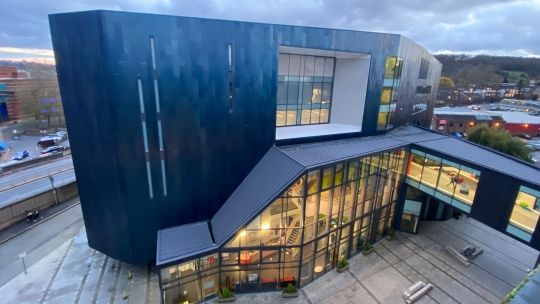 Gateway building at High Wycombe campus